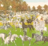 Vichy- Horseshow (canvas)